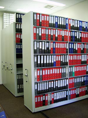 фото архивные стеллажи